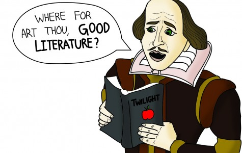 Quality of literature and entertainment in downward trend