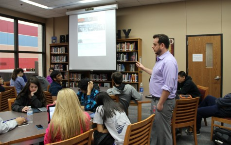 Caussey begins new semester with AP World History
