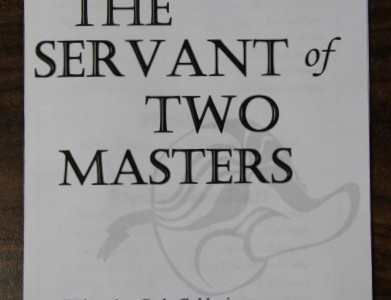 "One act play ""The Servant of Two Masters"" promises laughter, insight"