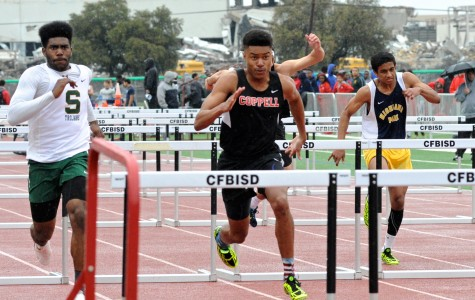 Coppell track teams race to regionals