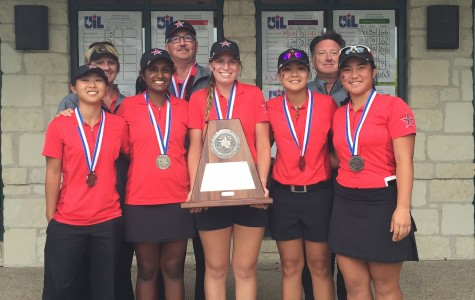 Girls golf places for first time ever at state tournament