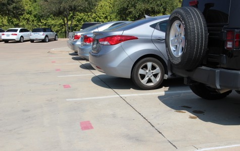 Additional senior parking spaces added to the Coppell High School parking lot