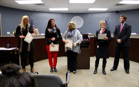 Board of Education meeting presents awards, international field trips