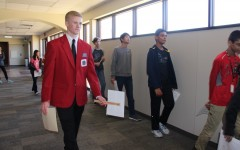 Coppell eighth grade students toured CHS last week