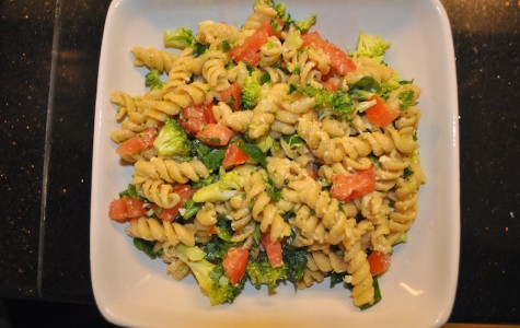 """Chop! Chop!""; quick pasta salad recipe for time crunched teens"