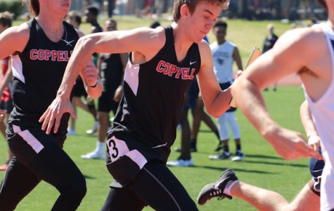 Track team looks to close out the year strong at district meet