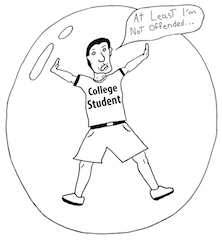 College is a place to grow up, not be more coddled