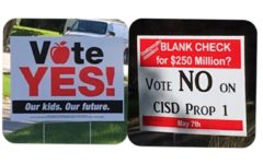 Community heads to polls tomorrow for bond, school board election