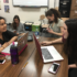 """Seniors discuss their summer plans during Kim Thibodeaux's AP English IV class on Friday. """"The end of the year is always a time for a lot of students to be really lazy but that the time when I do the most,"""" senior Mediha Rehan said. """"You're so close to the finish line why not just go out with a bang?"""""""