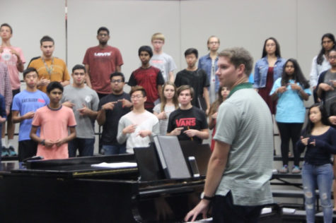 New Associate Director takes his place in Coppell Choir's crescendo to success