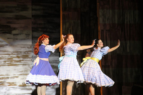 """Tapping into greatness; theater department begins preparation for """"42nd Street"""""""