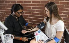 Blood drive draws enthusiasm from medical community at CHS