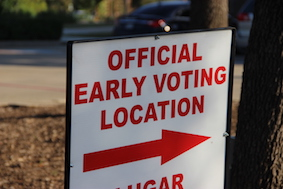 Early voting allows citizens to skip lines, hassle