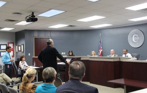 Maximum proposal price of new middle school discussed at board meeting