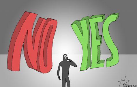 Balancing yes or no