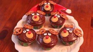 KCBY bakes reindeer cupcakes