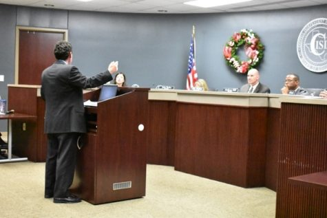 January board meeting recognizes teachers, spreads laughter