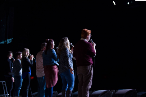 Q&A: Walker leads worship at annual Winterfest conference, shares faith and talent (with video)