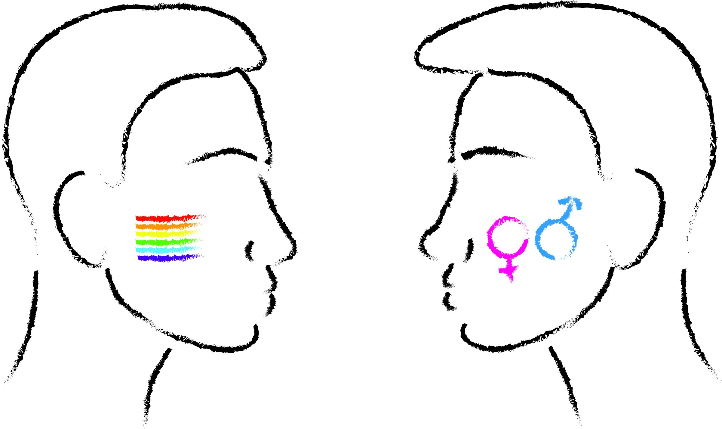 Straight pride seen as equilibrium rather than for ignoring the real reasons of LGBT+ pride.