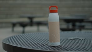 Reusable water bottle attracts bad bacteria due to environmental exposure