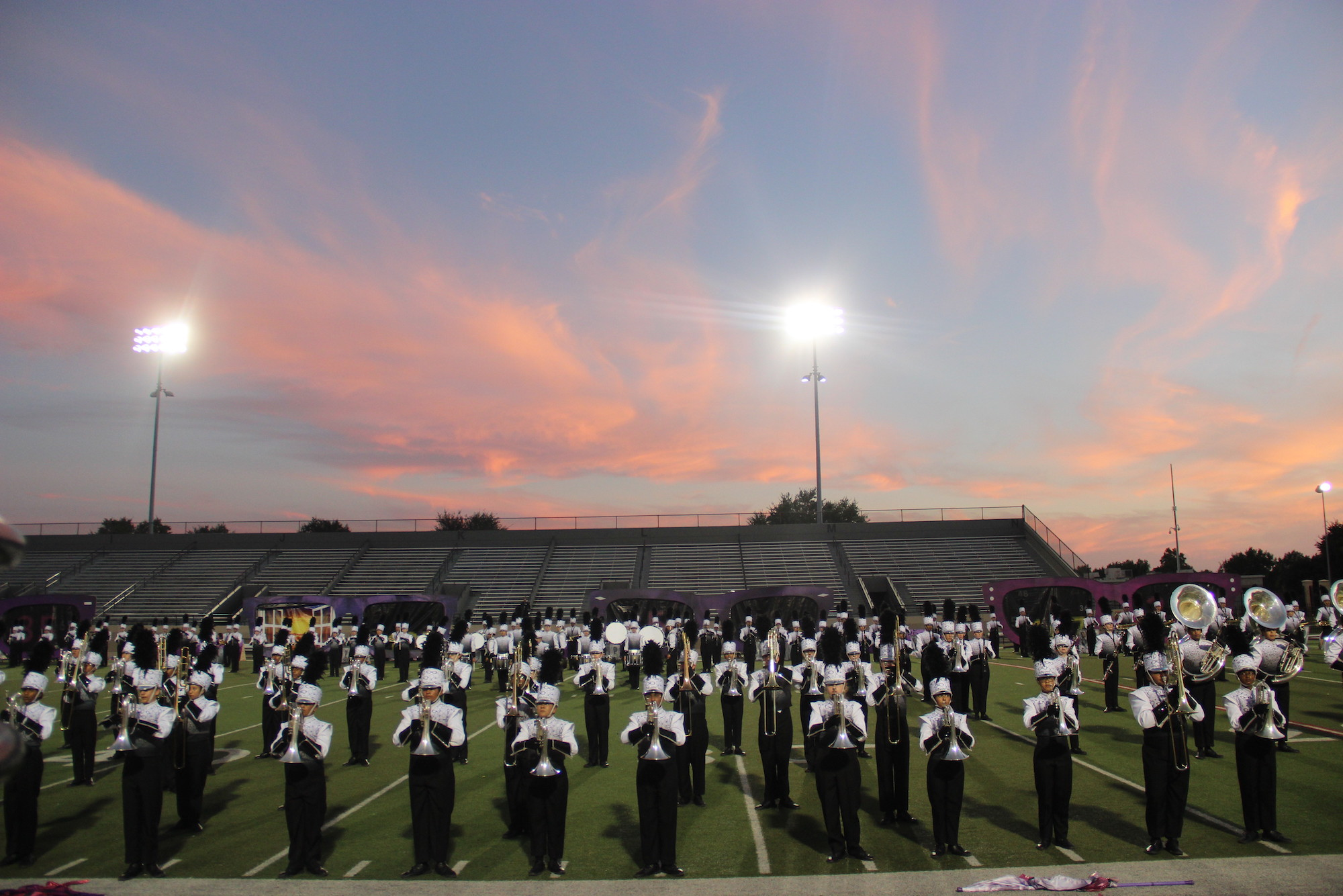 Booster clubs are an integral part for extracurricular programs ranging from athletics, fine arts and academics at Coppell High School. The band has one of the largest booster clubs on campus, financially supporting over 300 student members.