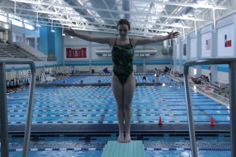 Chennault transitions from elite gymnastics to best diving team in the nation (with video)