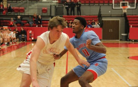Skyline Raiders defeat the Coppell Cowboys in Boys' Varsity basketball game