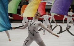 Coppell High School hosts Winter Guard International (WGI) Dallas competition for the first time