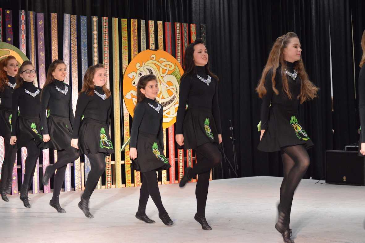 Coppell High School freshman Danielle Macmaster performs a traditional Irish dance at the North Texas Irish Festival 2017 on Saturday March 4. Macmaster has been dancing for the Inishfree School of Irish Dance since she was eight years old.