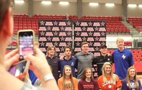 Colleges accept student athletes on signing day