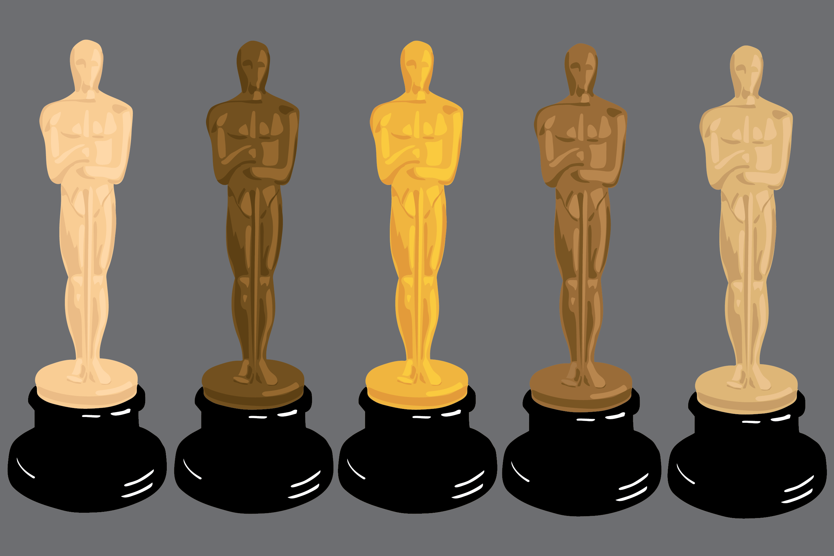 The 89th annual Oscars was held on Feb. 26 at the Dolby Theatre in Hollywood to honor and celebrate the best films of 2016. This year's Academy Awards uniquely awarded a variety of actors, actresses and writers of color, embracing and promoting diversity in the film industry. Graphic by Elena Gillis