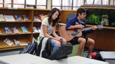 Library hosts weekly talent show