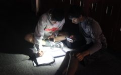 Morning power outage leaves classrooms in the dark