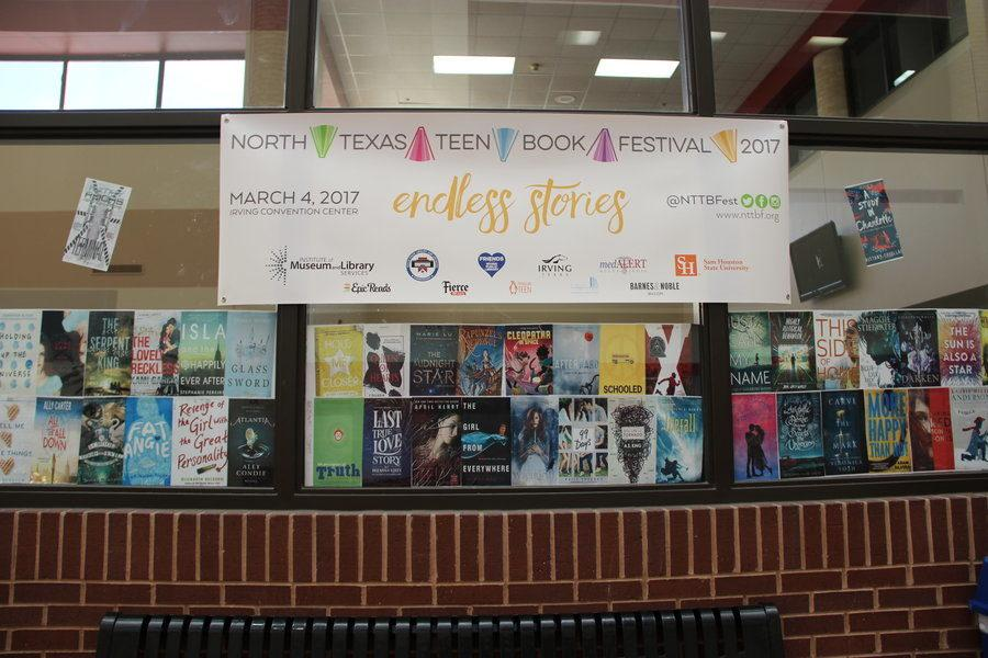 North+Texas+Teen+Book+Festival+will+be+on+Saturday+from+8+a.m.+to+5+p.m.+at+the+Irving+Convention+Center.+There+will+be+over+80+middle+grade+and+young+adult+authors+in+attendance.