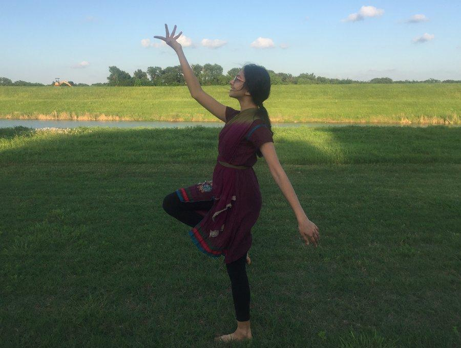 After practicing Bharatanatyam for 10 years, a new beginning is ahead as senior  Rutuja Joshi enters college. With this new beginning comes a bittersweet goodbye.