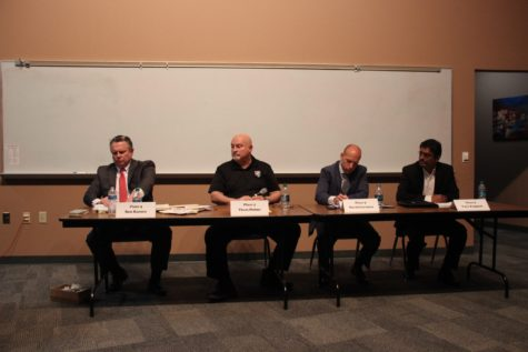 Coppell ISD PTSO Board of Trustees candidate forum held at CHS