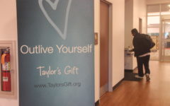 """Outliving yourself"" with Taylor's Gift presentation"