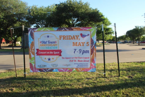 Concert on the Lawn to celebrate anniversary of Old Town Coppell