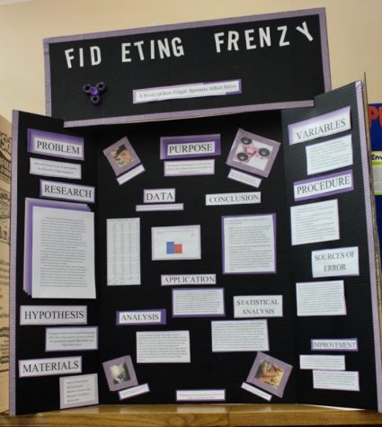 Bubble-ology science fair poster board images