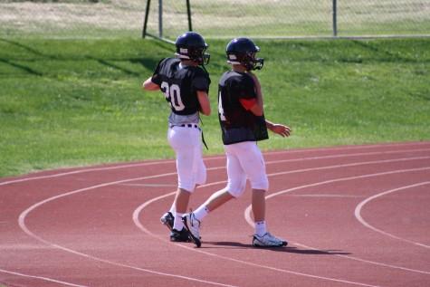 Larson impresses in spring game