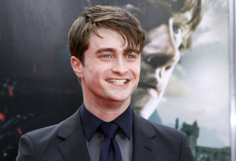 Daniel Radcliffe poses at the