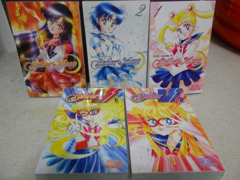 Many current anime fans started with comics such as  Sailor Moon and Codename: Sailor V . Photo by Kelly Stewart