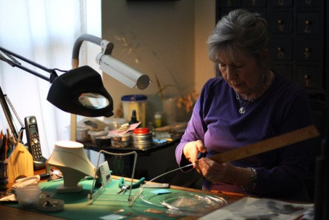 Nature, helping others inspires local metalsmith