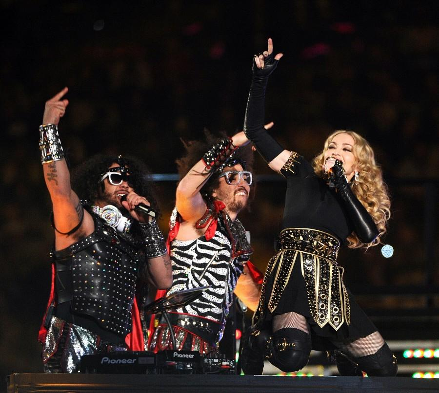 Madonna+performs+during+the+halftime+show+for+Super+Bowl+XLVI+on+Sunday%2C+February+5%2C+2012%2C+at+Lucas+Oil+Stadium+in+Indianapolis%2C+Indiana.+The+Giants+defeated+the+Patriots%2C+21-17.+%28Lionel+Hahn%2FAbaca+Press%2FMCT%29