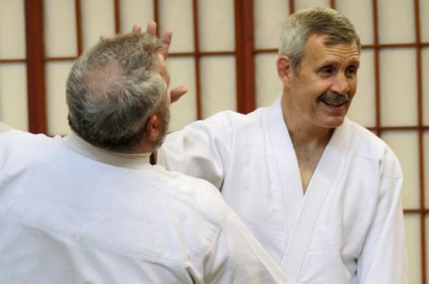 Parker enlightens students with martial arts