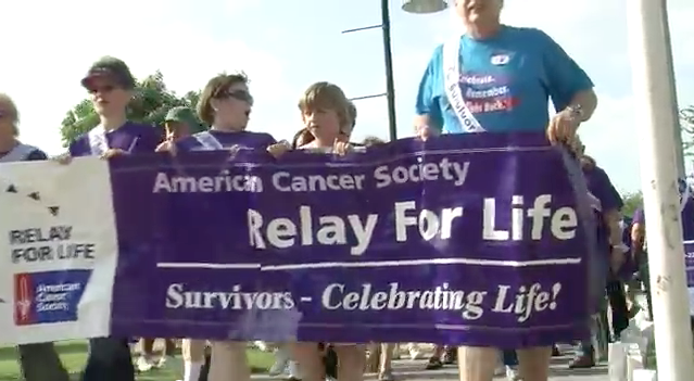 PSA walks alongside Salamone at Relay for Life