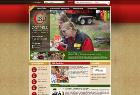 CISD website refreshes its look