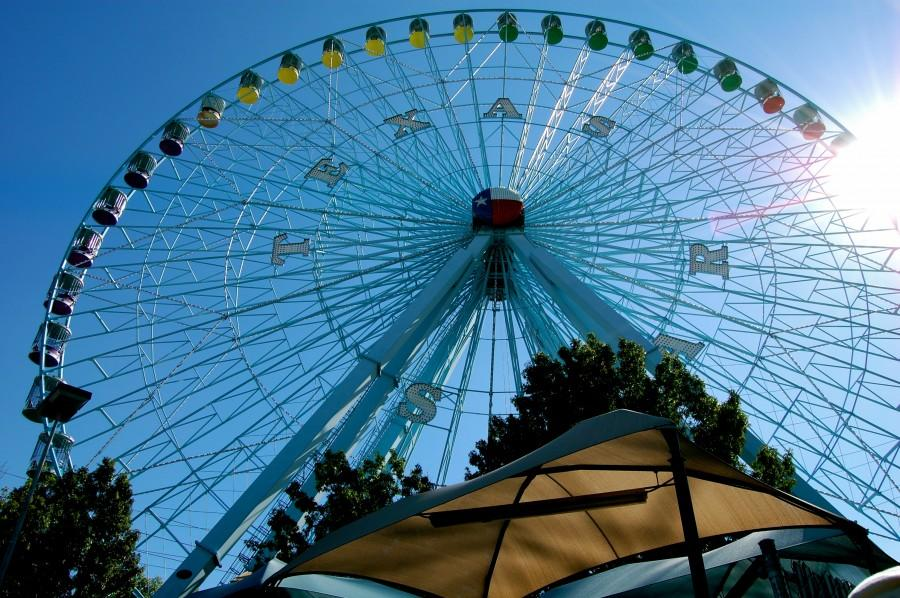 The Texas State Fair, which ended two weekends ago, features the Texas Star, which is the tallest ferris wheel in the Western hemisphere standing at 212 feet.