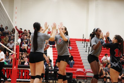 In clash of district leaders, Cowgirls tame Lady Jaguars in a five game match