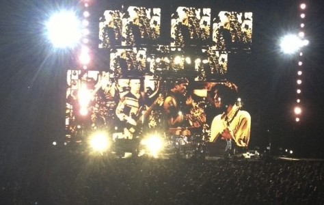 Red Hot Chili Peppers take care of business